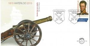 FDC 716 Slag bij Waterloo