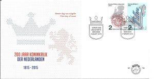 FDC 708 200 jr Koninkrijk der Nederlanden