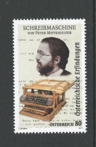 2017 Schrijfmachine